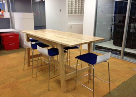Wooden Bar Leaner Officeinteriors